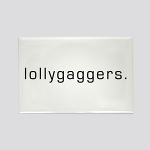 Lollygaggers Rectangle Magnet