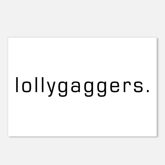 Lollygaggers Postcards (Package of 8)