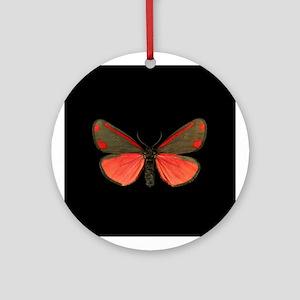 Cinnabar Moth Keepsake (Round)