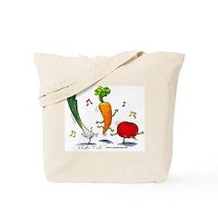 Happy Veggies Tote Bag