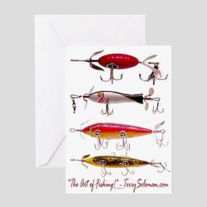 Fish, Fishing, Lure Greeting Card