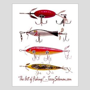 Fish, Fishing, Lure Small Poster