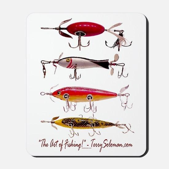 Fish, Fishing, Lure Mousepad