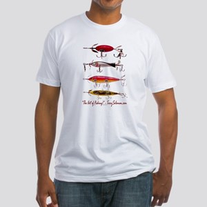 Fish, Fishing, Lure Fitted T-Shirt