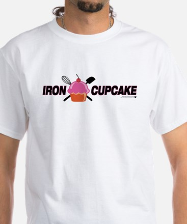 Iron Cupcake White T-Shirt