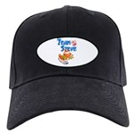 Team Steve Baseball Hat Black Cap With Patch