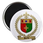 BOURG Family Crest Magnet