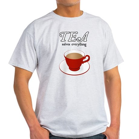 Tea Solves Everything Light T-Shirt