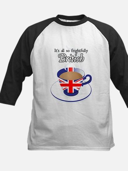 All Frightfully British Kids Baseball Jersey