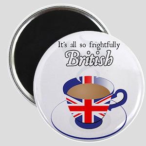 All Frightfully British Magnet
