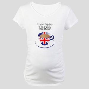 All Frightfully British Maternity T-Shirt