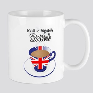 All Frightfully British Mug