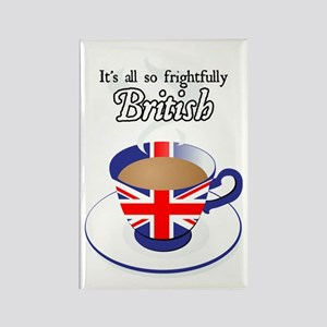 All Frightfully British Rectangle Magnet
