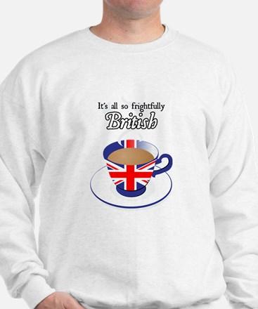 All Frightfully British Sweatshirt