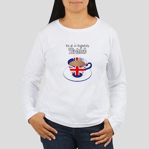 All Frightfully British Women's Long Sleeve T-Shir