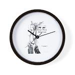 True First American Wall Clock
