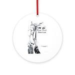 True First American Ornament (Round)