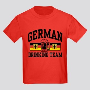 German Drinking Team Kids Dark T-Shirt