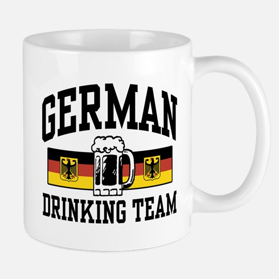 German Drinking Team Mug