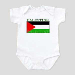 Palestine Palestinian Flag Infant Creeper