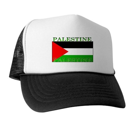Palestine Palestinian Flag Trucker Hat