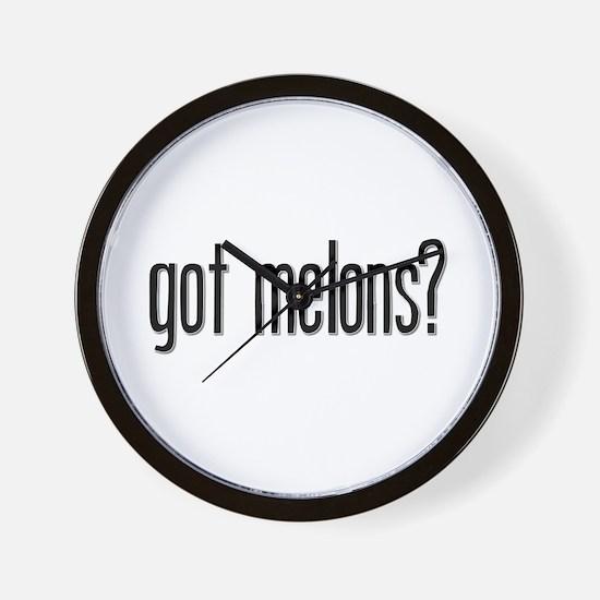Got Melons? Wall Clock