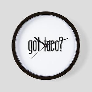 Got Taco? Wall Clock