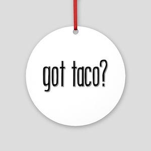 Got Taco? Keepsake (Round)