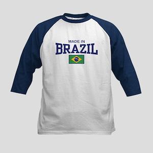 Made in Brazil Kids Baseball Jersey
