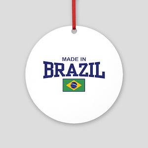 Made in Brazil Ornament (Round)