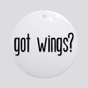 Got Wings? Keepsake (Round)