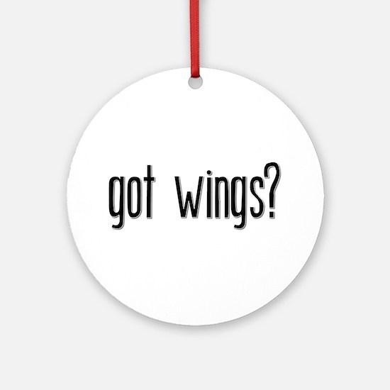 Got Wings? Keepsake (Round)
