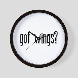 Got Wings? Wall Clock