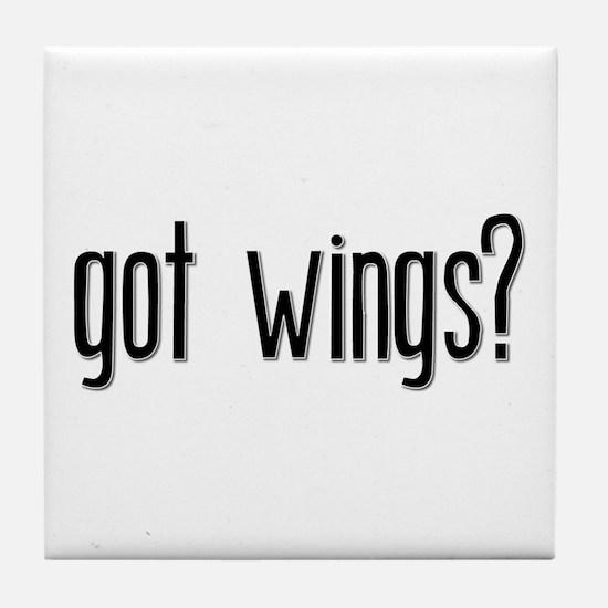 Got Wings? Tile Coaster