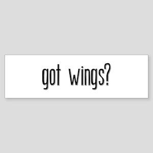 Got Wings? Bumper Sticker