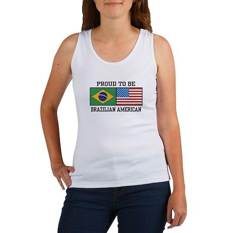 Proud Brazilian American Women's Tank Top