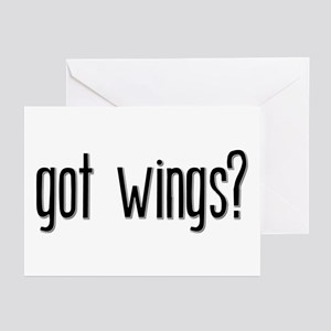 Got Wings? Greeting Cards (Pk of 10)