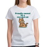 Proudly Owned (Cat) Women's T-Shirt