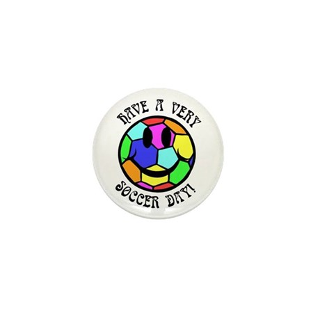 Soccer Day Mini Button (10 pack)