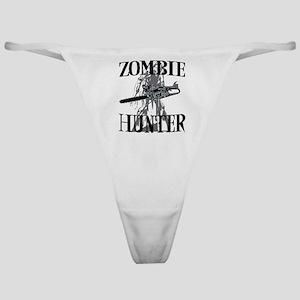 zombie hunter Classic Thong