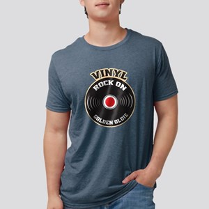 Vinyl Rock On Golden Oldie Shirt, Vinyl Re T-Shirt