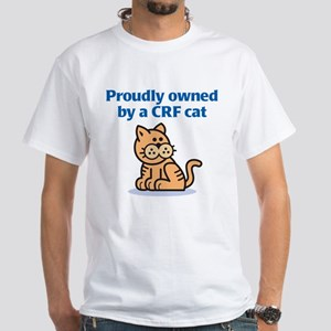Proudly Owned (CRF Cat) White T-Shirt