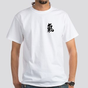 Qi White T-Shirt
