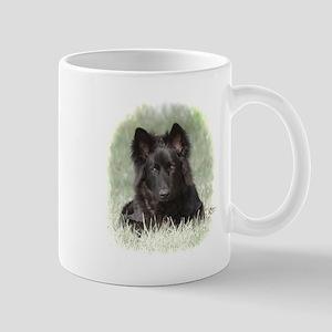 Long Coated German Shepherd Mug