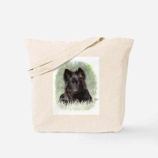 Long Coated German Shepherd Tote Bag