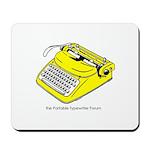 Mousepad with yellow logo 2