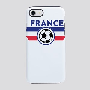 France Soccer Fan Football iPhone 8/7 Tough Case