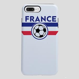 France Soccer Fan Footb iPhone 8/7 Plus Tough Case