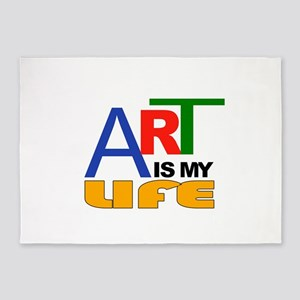 ART LIFE 5'x7'Area Rug