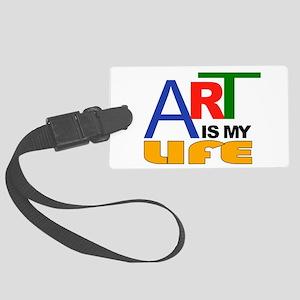 ART LIFE Luggage Tag